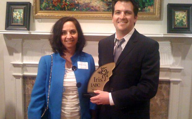 Iris Design Excellence Award